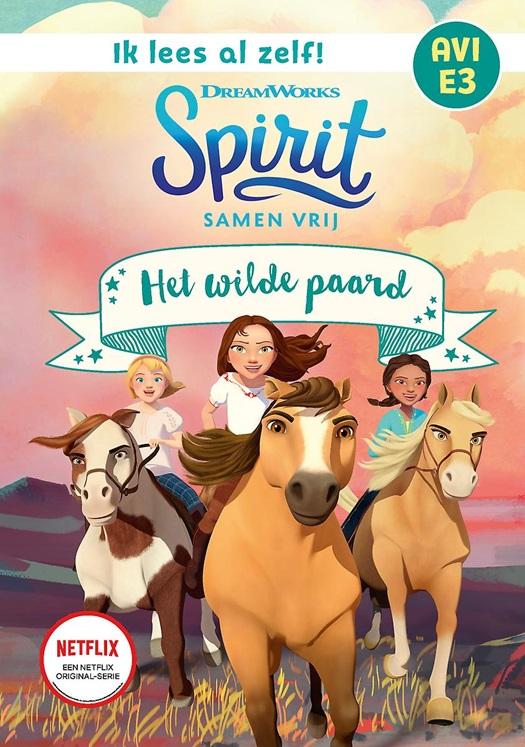 cover van spirit het wilde paard