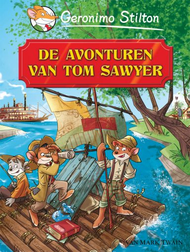 GS cover van wereldverhalen tom sawyer