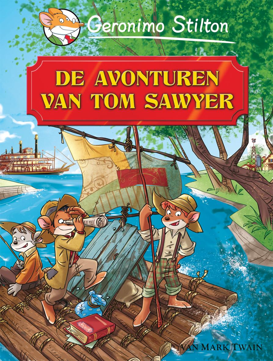 GS cover van wereldverhalen tom sawyer