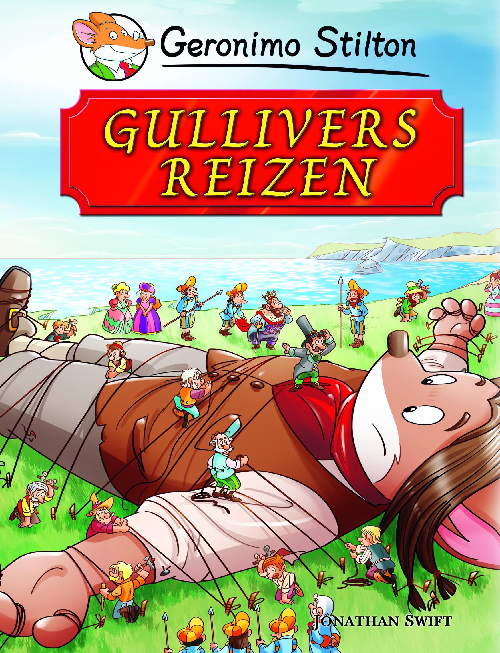 De cover van GS wereldverhalen gullivers reizen