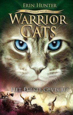 cover van warrior cats het eerste gevecht