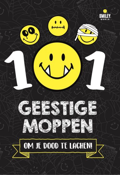 Cover van 101 geestige moppen smiley