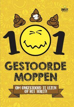 cover van 101 gestoorde moppen smiley