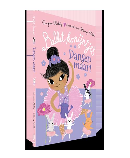 Cover van balletkonijntjes dansen maar