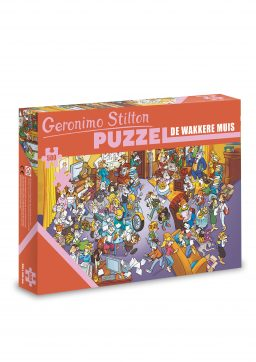 puzzel geronimo stilton de wakkere muis