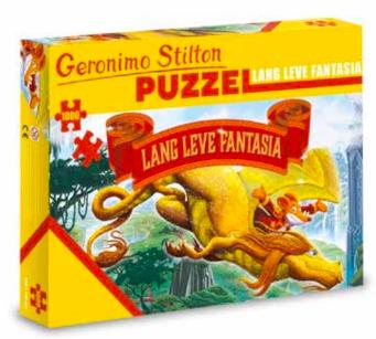 puzzel geronimo lang leve fantasia