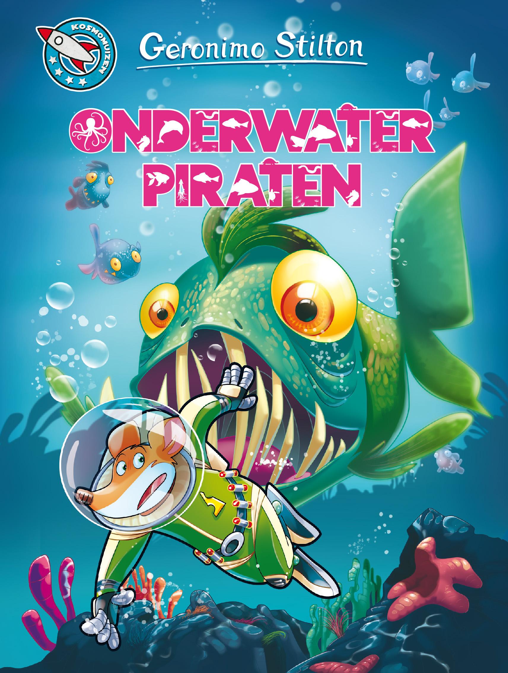 cover geronimo stilton 86 onderwaterpiraten