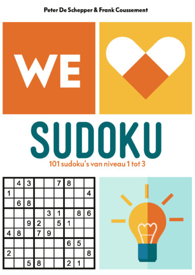 we love sudoku cover 9789059249028